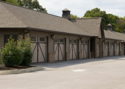 On-site garages are available for those who choose to keep to their private cars.