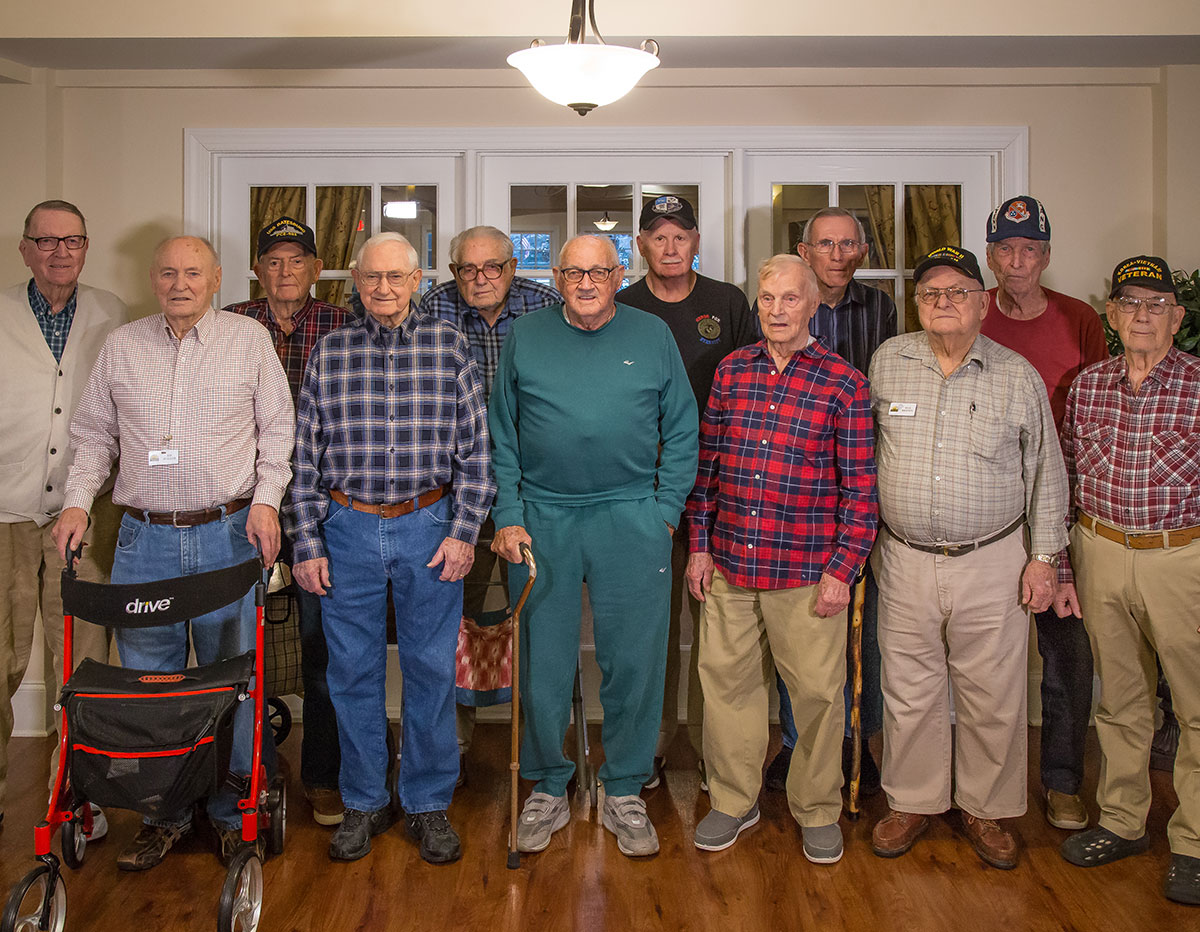 Parkview Senior Living treasures our veterans and is happy to help make sure you get the benefits you deserve.