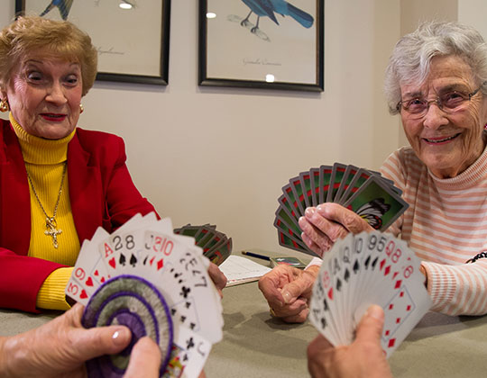 At Parkview our residents are enjoying an active, full life!