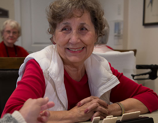 Making friends and enjoying life is what we strive for at Parkview Senior Living.