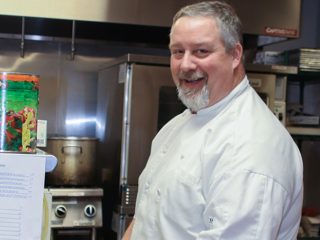 Greg Gross is the Head Chef at Parkview Maryville.