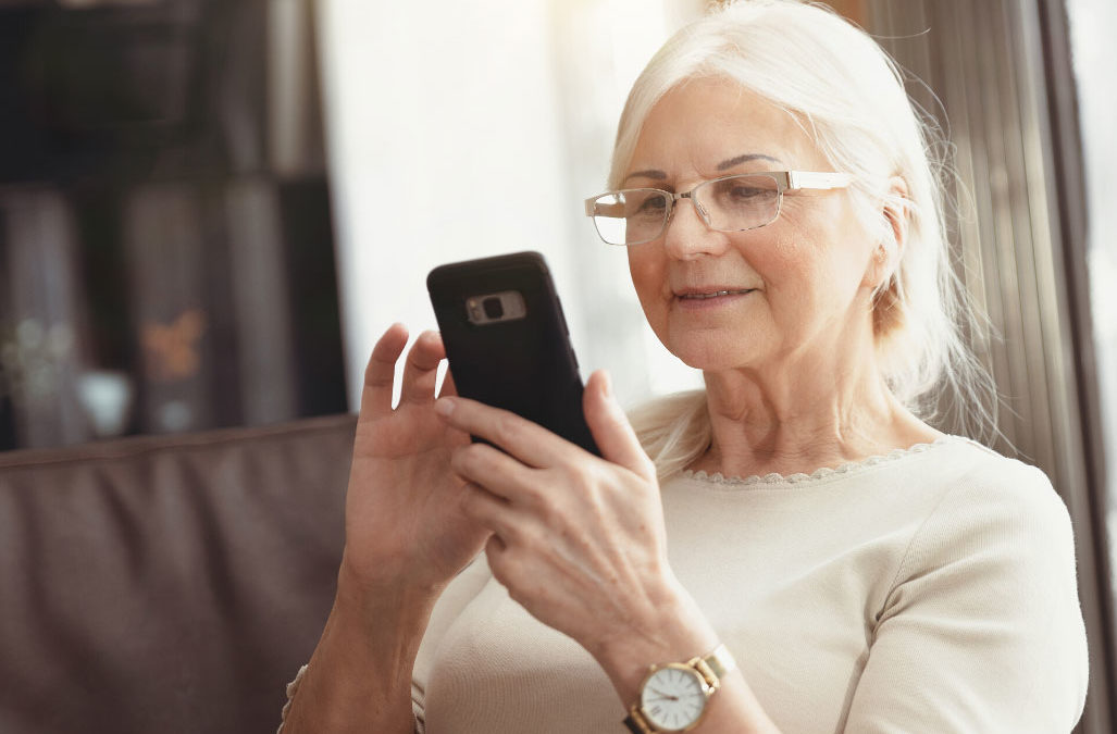 Seniors are becoming more and more socially connected and are benefitting in multiple ways.
