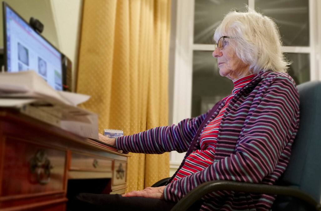 Elderly citizens need to be aware of potential scams.