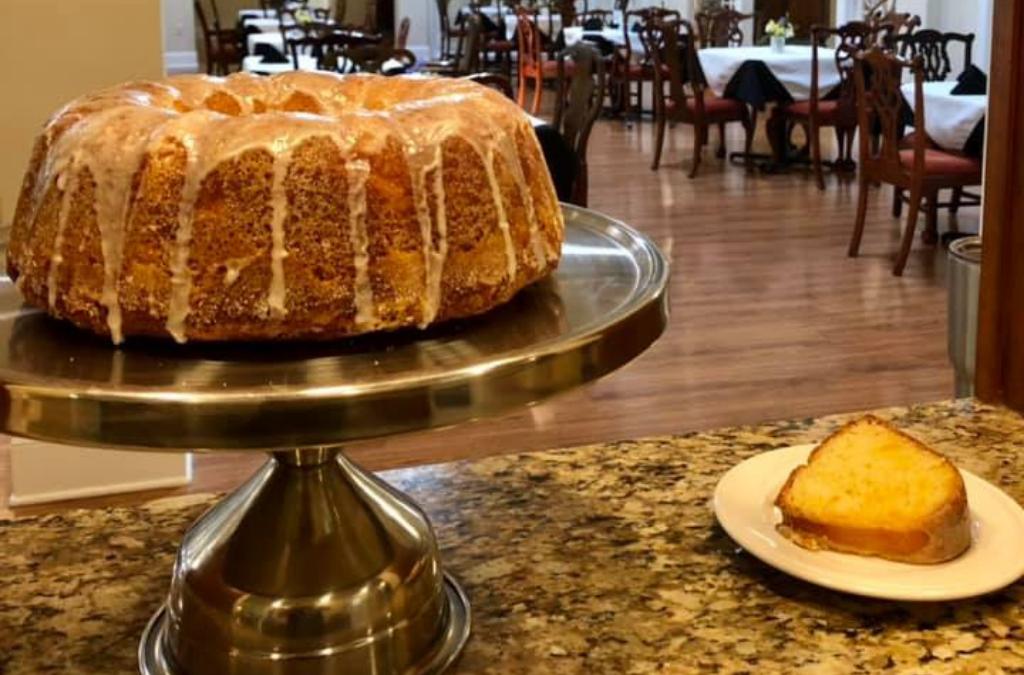 Georgia Peach Pound Cake Recipe